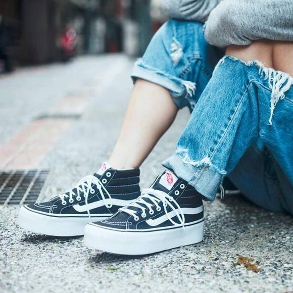 9089ef71f68408 Vans Sk8-Hi Platform Sneakers
